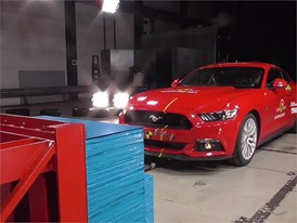 Ford Mustang Reassessment - Crash Tests 2017