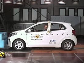 Kia Picanto - Crash Tests 2017