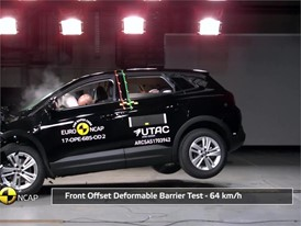 Opel/Vauxhall Grandland X- Crash Tests 2017