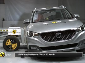 MG ZS - Crash Tests 2017
