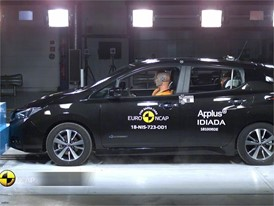 Nissan LEAF - Crash Tests 2018
