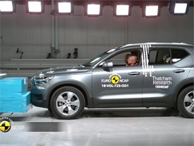 Volvo XC40 - Crash Tests 2018