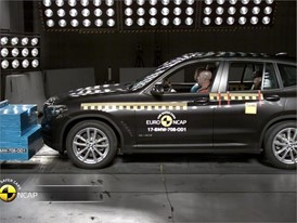 BMW X3-X4 - Crash Tests 2017