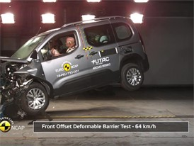 Citroën Berlingo - Crash Tests 2018