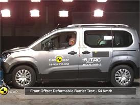 Opel/Vauxhall Combo - Crash Tests 2018