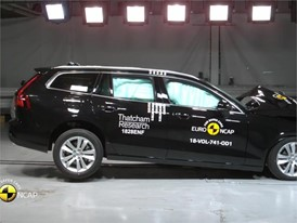 Volvo V60 - Crash Tests 2018