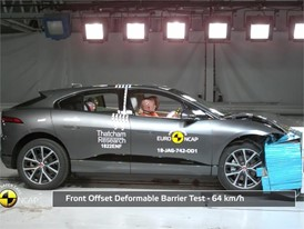 Jaguar I-PACE - Crash Tests 2018