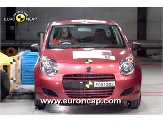 Suzuki Alto -  Euro NCAP Results 2009