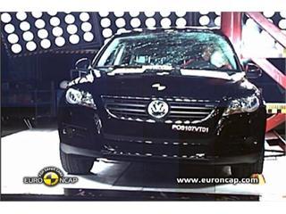 VW Tiguan-  Euro NCAP Results 2009