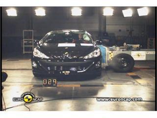Peugeot 308CC -  Euro NCAP Results 2009