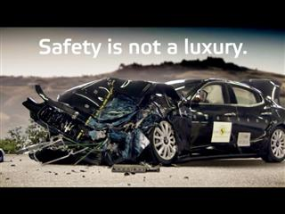 Safety is Not a Luxury - The Maserati Ghibli Undergoing Euro NCAP's Crash Tests