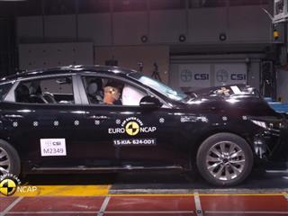 Kia Optima - Euro NCAP Results 2015