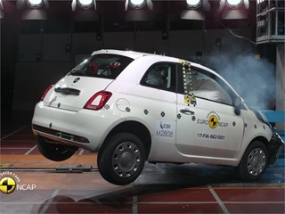 Fiat 500 - Euro NCAP Results 2017