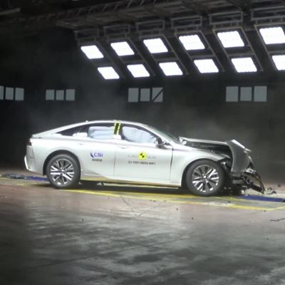 Toyota Mirai - Crash & Safety Tests - 2021