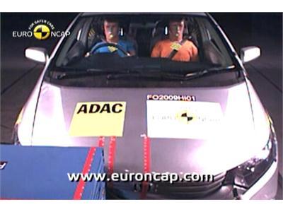 Honda Insight Hybrid -  Euro NCAP Results 2009