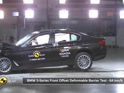 BMW 6 Series GT - Euro NCAP Results 2017