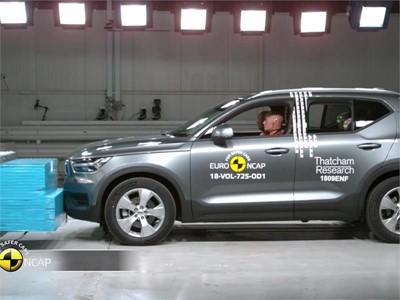 Volvo XC40 - Crash Tests 2018