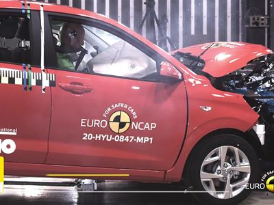 Hyundai i10 - Crash & Safety Tests - 2020