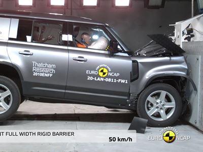 Land Rover Defender - Crash & Safety Tests - 2020