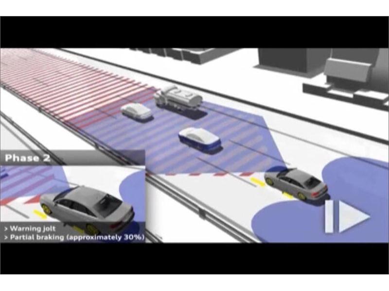 thenewsmarket com : Audi pre sense front plus