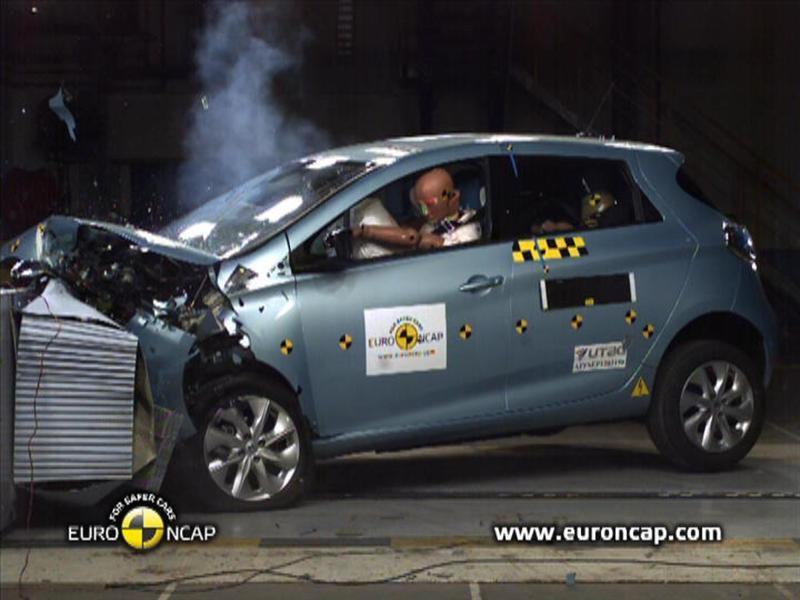 Renault Zoe Test >> Thenewsmarket Com Renault Zoe Crash Tests 2013