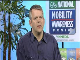 Mike Savicki, Spokesperson for National Mobility Awareness Month