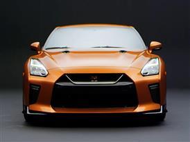 B-Roll: 2017 Nissan GT-R (studio)