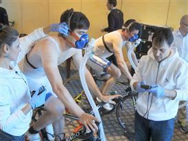 Team Novo Nordisk: Fitness and health tests