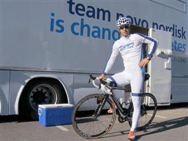 Team Novo Nordisk: Preparing to ride