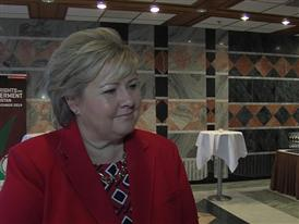 Comment from Norway's Prime Minister Ms. Erna Solberg