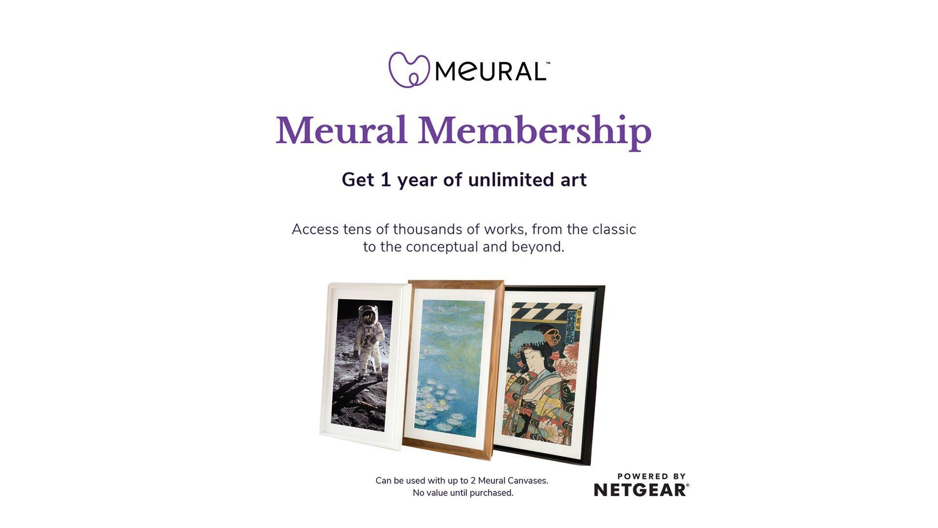 Meural Membership