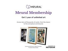 Showcase 30,000+ artworks from the Meural's art library on your Meural Canvas