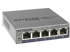 5-Port Gigabit Ethernet Smart Managed Plus Switch