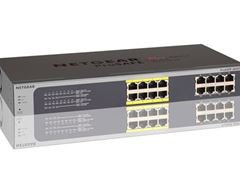 16-Port Gigabit Ethernet PoE Smart Managed Plus Switch with 8 PoE Ports (85W) - JGS516PE