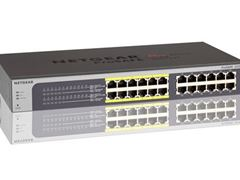 24-Port Gigabit Ethernet PoE Smart Managed Plus Switch with 12 PoE Ports (100W) (JGS524PE)