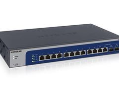 12-port 10-Gigabit/Multi-Gigabit Ethernet Smart Managed Plus Switch with 2 SFP+ ports