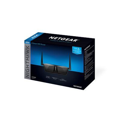 Nighthawk® AX4 4-Stream AX3000 WiFi Router (RAX40) - Box