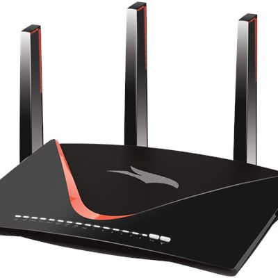 XR700 Nighthawk® Pro Gaming Router - Left