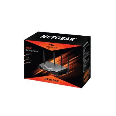 XR500 Nighthawk® Pro Gaming Router  - 3D Box