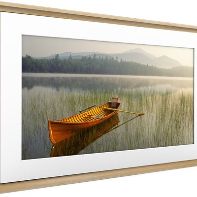 Meural Canvas II – the Smart Art Frame with 21.5 in., 16X24 White Frame