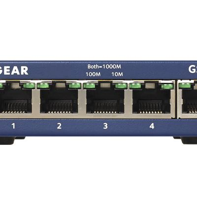 GS105 - 5-port Gigabit Ethernet Unmanaged Switches - Front