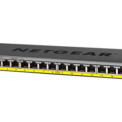 GS116PP -16-port Gigabit Ethernet