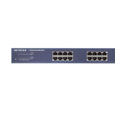 ProSafe® 16-port Gigabit Ethernet Switch (JGS516v2) - Front