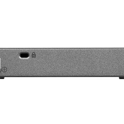 NETGEAR ProSAFE Web Managed (Plus) PD-Powered Gigabit Ethernet Switch with PoE (GS105PE) - Back