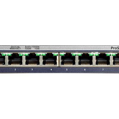 8-Port Gigabit Ethernet Smart Managed Plus Switch - Front