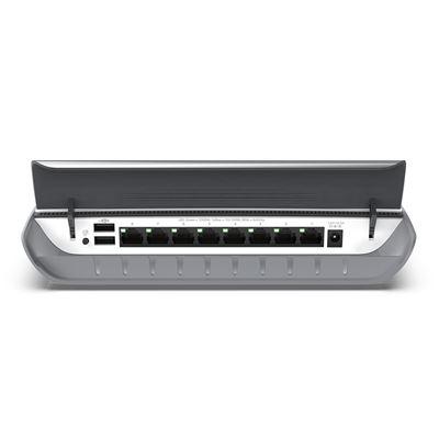 8-port Gigabit Ethernet Signature Smart Managed Plus Gigabit Switch with Cable Management  - Back