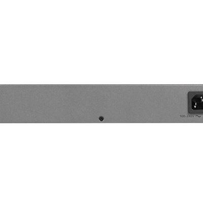 24-Port Gigabit Ethernet PoE Smart Managed Plus Switch with 12 PoE Ports (100W) (JGS524PE) - Back