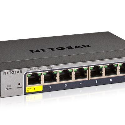 NETGEAR ProSAFE® 8-port Gigabit Smart Switch (GS108T)