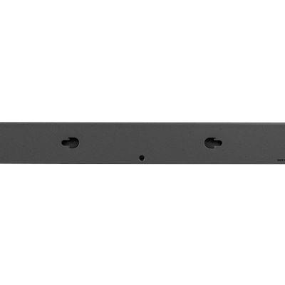 NETGEAR ProSAFE® Easy-Mount 16-Port PoE+ Gigabit Smart Managed Switch with 2 SFP Ports (GS418TPP) - Back