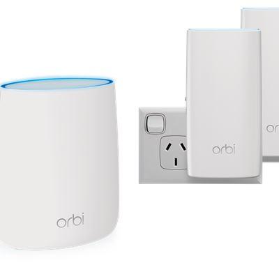 Orbi™ Whole Home AC2200 Tri-band WiFi System (RBK23W)